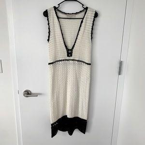 Emilio Pucci women crochet lace dress